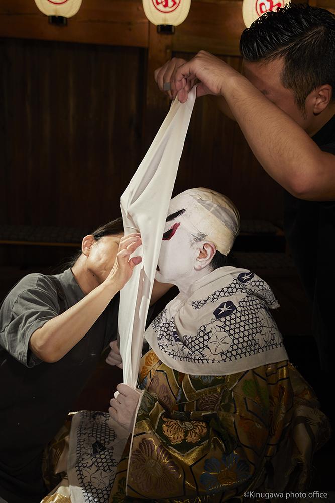 歌舞伎モデル撮影